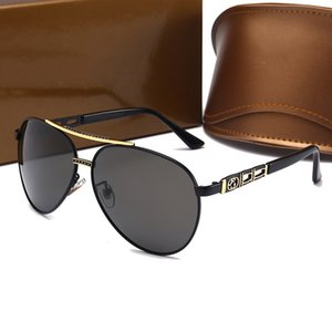 High Quality Fashion Men Women Polarized Sunglasses Brand Designer Sun glasses Vintage Classic Fishing Driving Eyewear With cases and Box