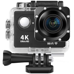 4K Action Kamera Unterwasser wasserdichte Kamera 170 ° Weitwinkel WiFi Sports Cam mit Montagezubehör Kit