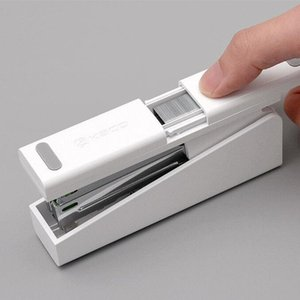 Dropship Xiaomi youpin Kaco LEMO Stapler 24 6 26 6 with 100pcs Staples for Paper Efficient Office School 3007123-B1
