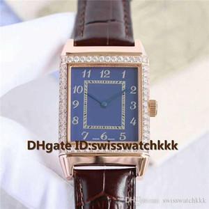 Top Q2788520 Uhren Swiss Automatic 21600VPH Saphirglas Diamant Lünette Rotgold Gehäuse Kalbslederarmband Herrenuhren Wasserdicht 100m
