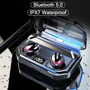 X10 TWS Bluetooth V5.0 radio senza cuffie auricolari stereo 8D Sport auricolari Auricolare Con Charging Box Mic per l'iPhone Xiaomi