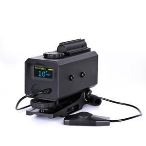 Taktik Lazer mesafe Bulucu Le032 Telemetre ayarlanabilir Kapsam Dağı ile avcılık tüfek Kapsam fit 20mm ray