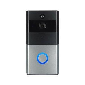Z-BEN Kablosuz Görüntülü Kapı Telefonu HD PIR WIFI Kapı Zili Interkom 720 P IP Kamera Pil Gücü Ses SD Kart Yuvası Açık Güvenlik