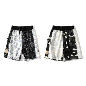 Bape Mens Designer Shorts Mens Summer Beach Pants Camouflage Pint Summer Mens Women Loose Short Pants Size M-3XL