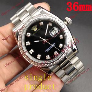 1 Ofertas Liquidaciones Color.Clear y especial. Las mujeres reloj de diamantes relojes de pulsera automáticos de 36 mm Datejust relojes de lujo amantes de los relojes