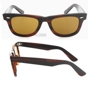 New style occidental femmes Cassdall Marque Designer Lunettes de soleil mode grand angle Tortoise Cadre brun UV400 lentille 50 mm Lunettes de soleil avec la boîte