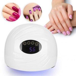 Intelligent 90W Nail Art Lampe Dryer Gel Polish Durcissement UV / LED manucure outil