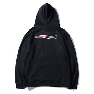 Mens Stylist Hoodies Uomini Donne Classic Felpa con cappuccio Blu Nero Fashgion Coppie qualità con cappuccio Alto formato M-2XL