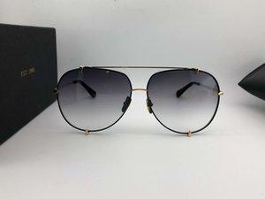 Classic Pilot Sunglasses 23007 Gold Black Grey Gradient Gafas de sol Women Men luxury glasses designer sunglasses Shades New with box