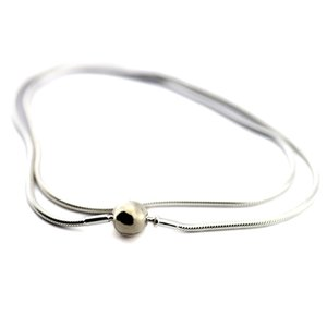 Genuine 925 Sterling Silver Jewelry Essence Collection Necklaces for Women DIY Fits Essence Collection Beads Charms Jewelry