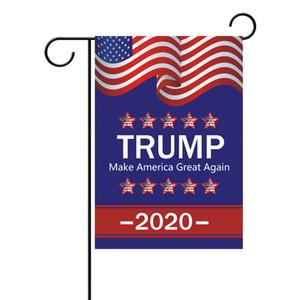 شحن مجاني! ترامب Compaign President Flags 2020 الولايات المتحدة الأمريكية الانتخابات العامة راية Ployester Cloth Pennant Flags A03