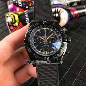 NUEVA Chronomat MB0111C3 | | BE35 253S | Relojes de cuarzo para hombre M20DSA.2 reloj cronógrafo de caballero de acero Negro de moda correa de caucho de nylon populares perfectos