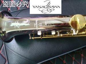 Giappone Brand Yanagisawa W-037 Soprano Sassofono in ottone Placcato argento tubo in oro sax sax wikey sax con portavoce Canne piegate due collo gratis