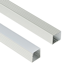 2m pc led slot, embedded aluminum profile for 5050 5630 strip, milky transparent cover 12mm pcb for LED Bar Light and LED strips