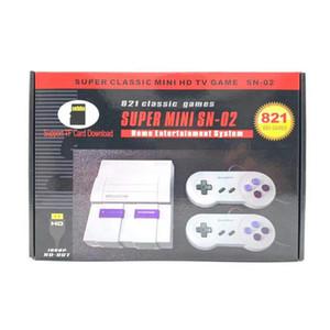 Обновление MINI обрабатывались Видео игры игрок SNES 8-битный HDMI может хранить 821 Игры ТВ Выход игры Поддержка консоли Tf Card Free DHL