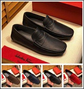 19SS Lüks Gümüş mokasen On Fashion Forward Kayma Adam Siyah Boş Eğilimleri Timsah Desen 45 YECQ4 Ayakkabı Erkekler Loafer Ayakkabı kırmızı