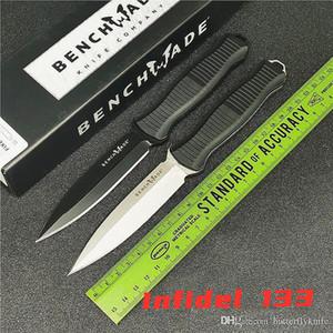 BENCHMADE неверный 133 обоюдоострый тактический фиксированный нож прямой нож открытый кемпинг фрукты 940 нож
