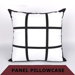 DIY Sublimasyon 9-grid yastık yastık kılıfı A07 baskı boş pillowslip Squared Yukarı termal transferi baskı * 45cm ısı transferini 45cm