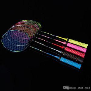 Fibra de Carbono New Sports Badminton Racquet Badminton Racket frete grátis 8u Ofensivo treinamento Raquetes de Badminton Venda