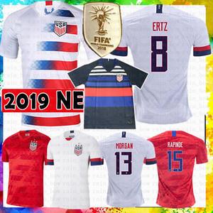 Amérique États-Unis Soccer Jersey LLOYD KRIEGER MORGAN RIPINOE Pulisic McKennie Weah Maillot de foot PUGH HAMM CHAMPIONS HEATH