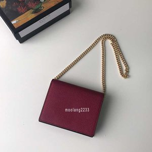Messenger Gerçek Chian-Cüzdan Moda Cep Kadın Marka Lady Yüksek Kaliteli Deri Çanta Avrupa Tarzı Tasarımcı Zumi Çantalar Kart Cüzdanlar B CAXU