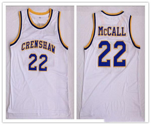 custom XXS-6XL custom made crenshaw Epps LOVE and BASKETBALL MOVIE #22 QUINCY McCALL man women youth basketball jerseys size S-5XL любое имя