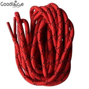 Round Lacets Cordes Boot Lacet cordon Shoestrings avec points 47 pouces - 63 pouces