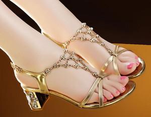 2019 Sandales pour femmes en été avec nouveau style Perceuse à eau à talon haut et talon aigu @ 09