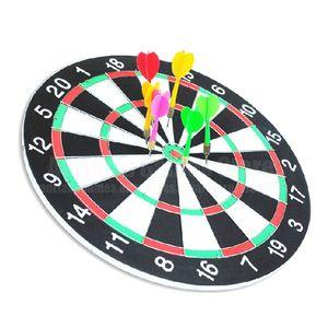 6 Darts Darts Board Set 12/15/17 Inch família / escritório Jogo Dartboard Sports Exercise Dardos do jogo Outros produtos de golfe