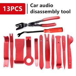 13 STÜCKE Auto Audio Demontage Werkzeug Mit selbstdichtenden Tasche Auto Innentür Clip Panel Trim Öffnen Removal Tools