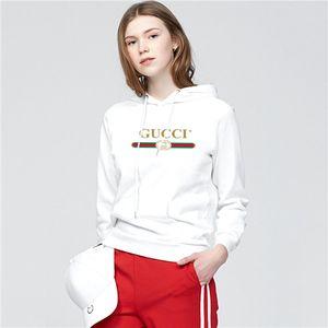 gu̴cci New Hoodies Sweatshirts Couple Top Solid Color Coats womens Hooded Sweater Jacket Fashion Hip Hop HFWY015