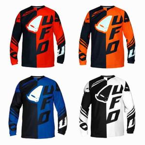 2020 UFO Downhill-Mountainbike Reitanzug Langarm-Shirt männliche Sommer Offroad-Motorradsport schnell trocknend Anzugs