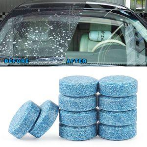1pcs = 4L Car água do pára-brisa de vidro Washer Cleaner Compact efervescente pastilhas de detergente Drop Shipping