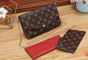 2020 Fashion lady chain bag hot woman shoulder bag 3 piece set We 118