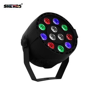 4 pz / lotto DJ party Light wash Led Par Stage dmx Light 12x3W RGBW Controller effetto discoteca Dj Equipment proiettore