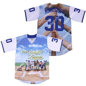 Benny 'The Jet' Rodriguez 30 Baseball Jersey Der Sandlot Film Jersey 3D 985.632.485