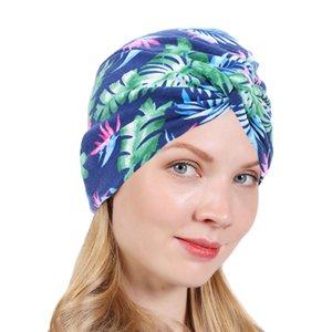 Muslim Women Cotton Knitted Turban Hat Headscarf Cancer Chemo Beanies Cap Headwrap Plated Headwear Hair Accessories