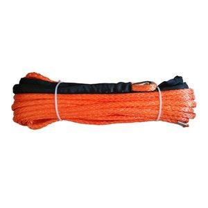 10мм х 40meters UHMWPE синтетического троса лебедки для 4x4 / ATV / UTV / SUV / восстановления бездорожья
