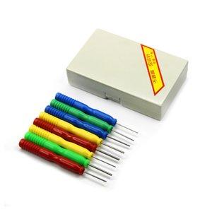 s Pièces d'outils de haute qualité 8PCS / Lots creux Aiguilles dessouder outil Composants électroniques Kits d'outils en acier inoxydable Pièces