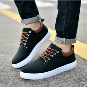 Neue koreanische Version Marke Günstige Freizeitschuhe Triple Black Sneaker Kombination Schuhe der Frauen der Männer Art und Weise beiläufige Schuh-Top-Qualität 40-45