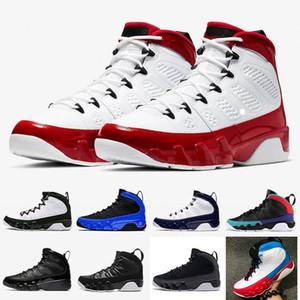 air jordan retro 9 red Zapatos rojos de gimnasio jumpman 9s baloncesto del Mens OG atasco del espacio azul UNC AireJordán9 retro sueño es lo que hace que los hombres formadores