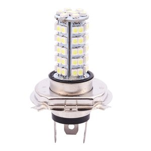 Car 68 LED SMD 3528 H4 Bulb Fog Light Lamp Headlight 310LM 12V 6500K New