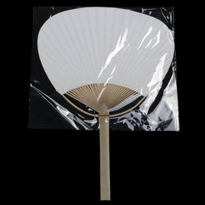 Paddle Hand Fans with Bamboo Frame and Handle Wedding Party Favors Gifts Paddle Paper Fan Spanish Fan