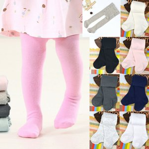 Tights Solid Stockings Trousers Pantyhose 2019 Toddler Kids Baby Girl Boy Cotton Warm