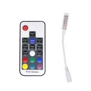 RGB RF дистанционного управления DC5-24V 17 клавиш дистанционного управления для SMD 5050 SMD 2835 Светодиодная полоса 4 булавки