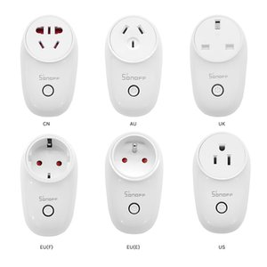 S26 10A 2200W WIFI wireless remote control socket smart timer plug smart home power socket US AU European regulations British regulations Au