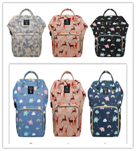 New High Capacity USB Mummy Backpacks Multifunctional Oxford Zipper Travel Shopping Bag Mami Dry Wet Depart Bottle Carry Case Mochila LY229