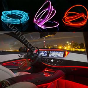 USB/Auto Zigarette / AA Batterie Flexible Neonlicht Glow EL Draht String Led Streifen Licht Schuhe Kleidung Dekor Licht 1 MT / 3 MT/5 MT