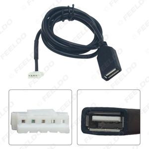 Автомобильный CD радио кабеля к USB-адаптер Conector для Peugeot Wire 307 408 Citroen C4 C5 данных # 6156