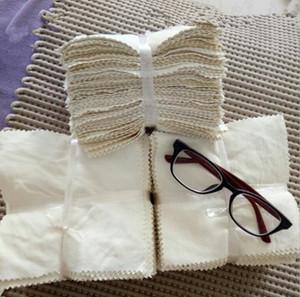 Natürliche Chamois-Reinigungstuch Fusselfrei Reiniger Tücher für Kameraobjektive Brillen Brillen Screen-Tablette Handy-Reinigungs-Tools